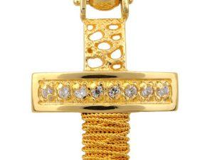 Σταυρός 14Κ από Χρυσό SVK2059