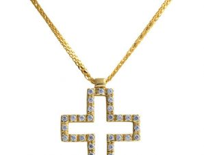 Σταυρός 14Κ Χρυσός SVK2281