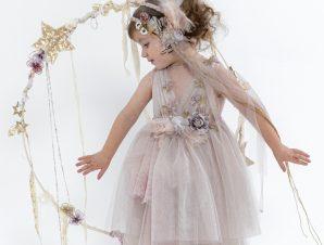"Baby u Rock Βαπτιστικό Φόρεμα ""Yves"" 22002G18AAC"