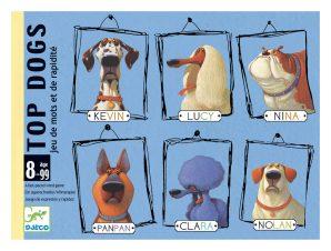 Djeco Επιτραπέζιο καρτών 'Top Dogs'