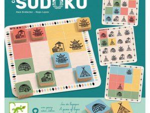 Djeco Επιτραπέζιο Crazy sudoku