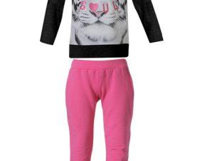 Φόρμα παντελόνι και μπλούζα τύπωμα τίγρης 16-117276-0 – ΦΟΥΞ – 8580-21/12/297/102