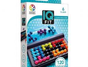 Smartgames επιτραπέζιο 'IQ Fit' (120 challenges)