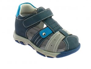 IQKIDS MAVRIKIOS-150 Μπλέ Πέδιλο Για Αγόρι Με Μαλακό Πάτο – Μπλε – IQKIDS MAVRIKIOS-150 NAVY-blue-29/4/10/61