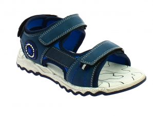 IQKIDS OMAN-150 Μπλέ Πέδιλο Για Αγόρια Με Μαλακό Πάτο – Μπλε – IQKIDS OMAN-150 NAVY-blue-33/4/10/65