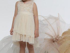 "Baby u Rock Φόρεμα Βάπτισης ""Sorelle"" G02"