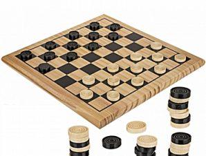Ξύλινο παιχνίδι ντάμα 29 εκ.