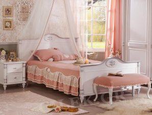 Παιδικό κρεβάτι ημίδιπλο RO-1304