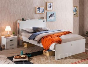 Παιδικό κρεβάτι ημίδιπλο WH-1302 USB CHARGING